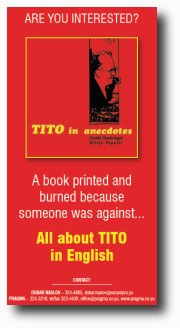 Vote for Tito in anecdotes
